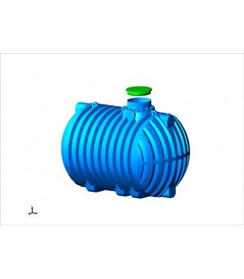 Regenwasserzisterne Aqua Plast 10000 Liter