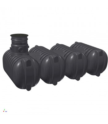 Zisterne Aquiri Black Line 10000 Liter Retention