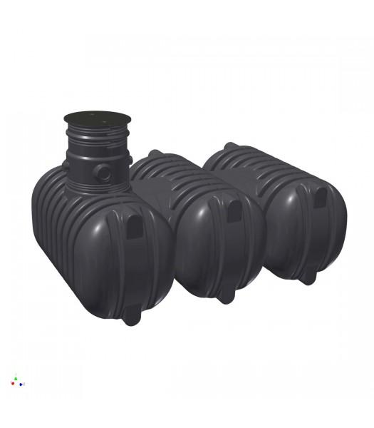 Zisterne Aquiri Black Line 7500 Liter