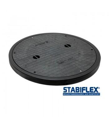 Stabiflex Schachtabdeckung BASIC XXL DN800/DN1000 – mit Blockrahmen