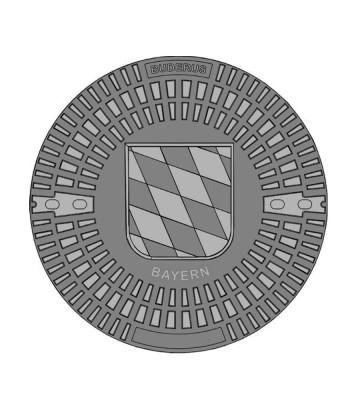 Alternativ-Abdeckung für Betonzisternen Typ Bayern