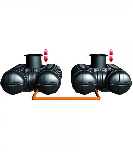 Twinbloc Flachtank Doppelanlage 7000 L