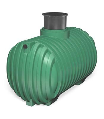 Regensammler Erdtank Garten 6500 Liter + Pumpe