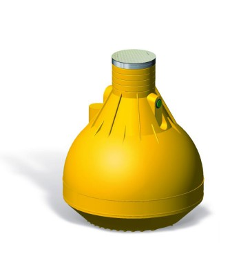 Wisy Regenspeicher 4500 Liter Grundausstattung neue Generation
