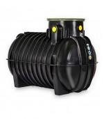 Abwassersammelgrube-Sickersaftbehälter 3000 Liter