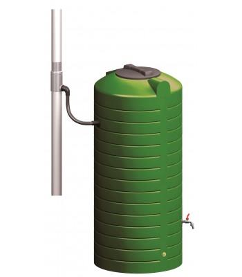Wisy Regentonne Stabilix 1 mit Regenwasser-Set  500 Liter